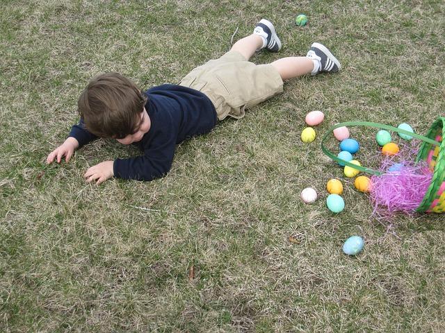 dítě po pádu
