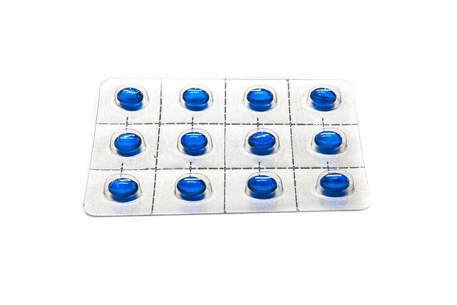 modré pilulky